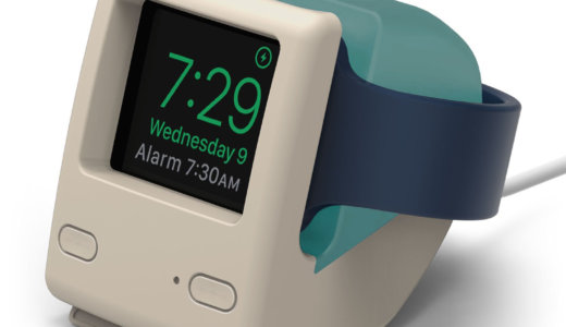 【Apple Watch】かわいい充電スタンドで毎日幸せを感じてます